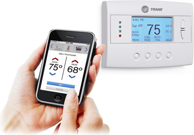 Trane ComfortLink� Internet-Enabled Programmable Remote Thermostat